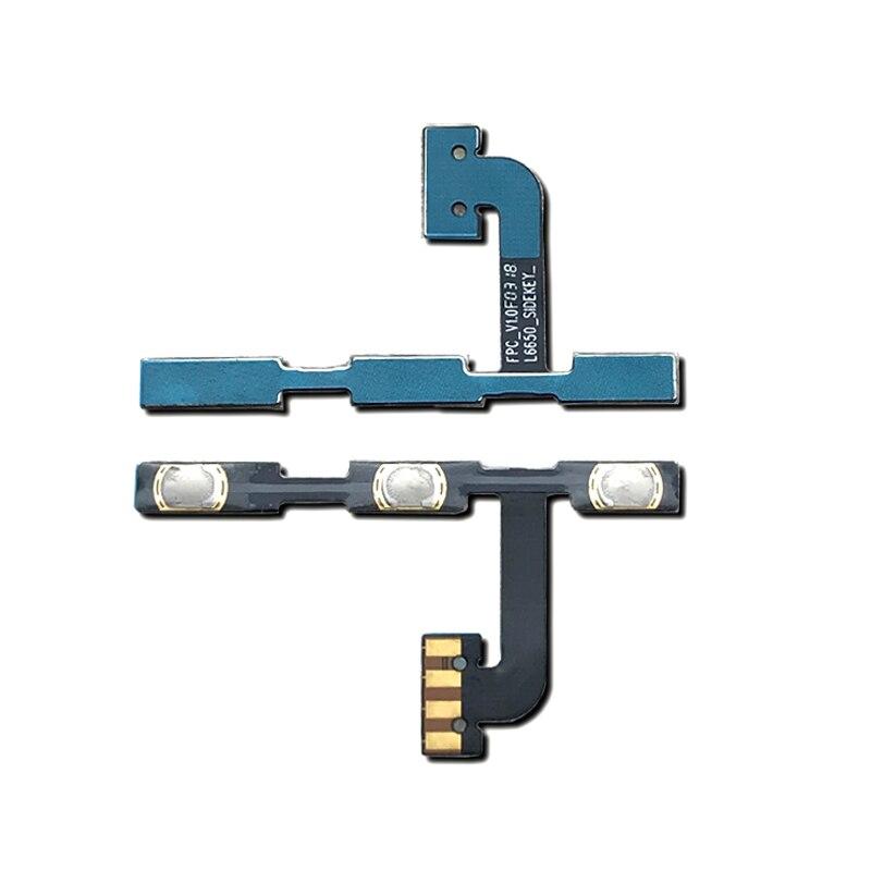 Nuevo probada para Xiaomi Redmi Note 5 botón de encendido y volumen interruptor de llave de reemplazo de cable flexible Sapre partes