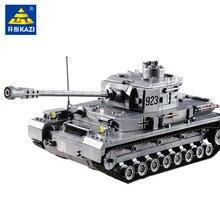1193 pièces grand Panzer IV réservoir blocs de construction WW2 technique militaire Juguetes briques armée assemblage jouets éducatifs pour les enfants