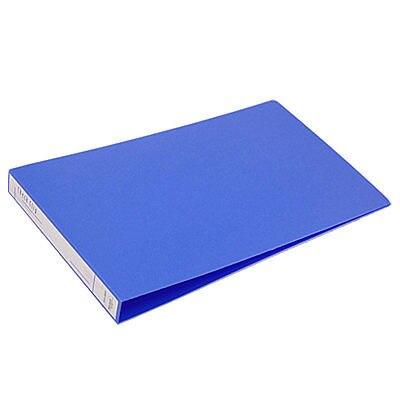 Office Blue Cover Bill Folder Holder Organizer New