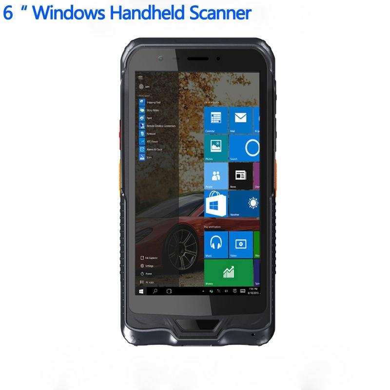 "Original Kcosit K62H 6 ""Terminal portátil de PDA Windows 10 Rugged Tablet PC teléfono móvil impermeable GPS 2D Escáner DE CÓDIGO DE Barras láser"