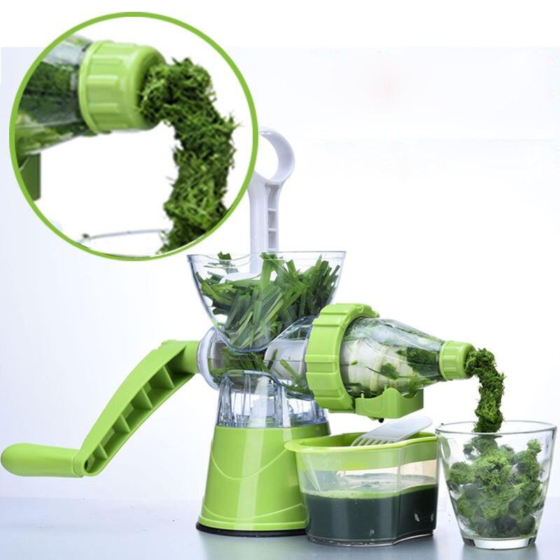 Exprimidor Manual multifuncional portátil DIY, exprimidor fresco de manzana, naranja, wheatgrass, máquina exprimidora de utensilios de cocina saludables