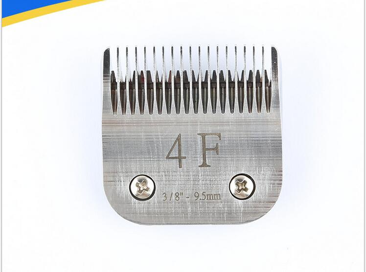 4f a5 lâmina para pet grooming aço ou cermic clipper 9.5mm