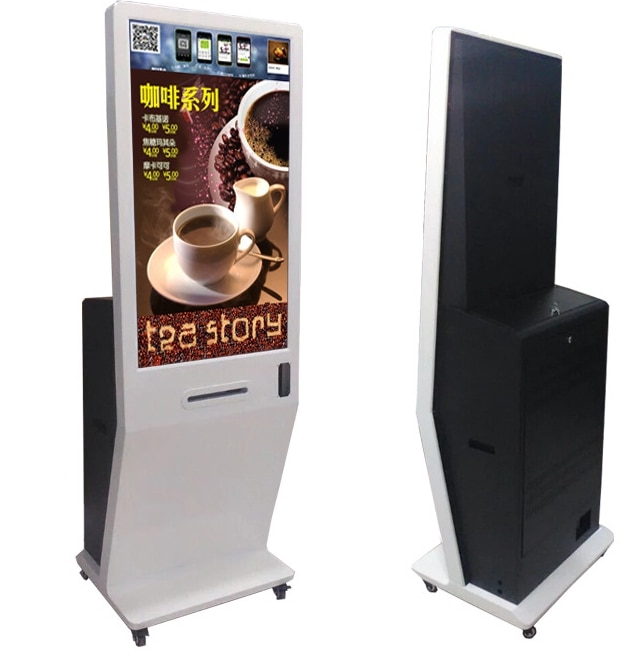 21.5 24 32 42 inch touch screen all in one led lcd pc tv advertising wechat whatsapp Photo Booth Kiosk with printer
