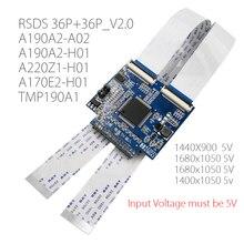 RSDS_S3_V2.0 36 P 0.5 FFC LVDS per Segnale RSDS Trasformare Scheda Adattatore Scheda di Conversione per A190A2 A220Z1 A170E2 TPM190A1 19/22