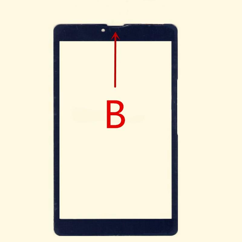 Tableta negra de 8 pulgadas para Digma Plane 8548S 3G PS8161PG/8549 S 4G PS8162PL pantalla táctil gratis