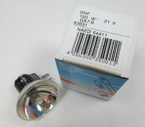 Для DNF 21V150W GX7.9 галогенная лампа, 21V 150W проекционная лампа, NAED 54411, эндоскоп волоконно-оптический источник света