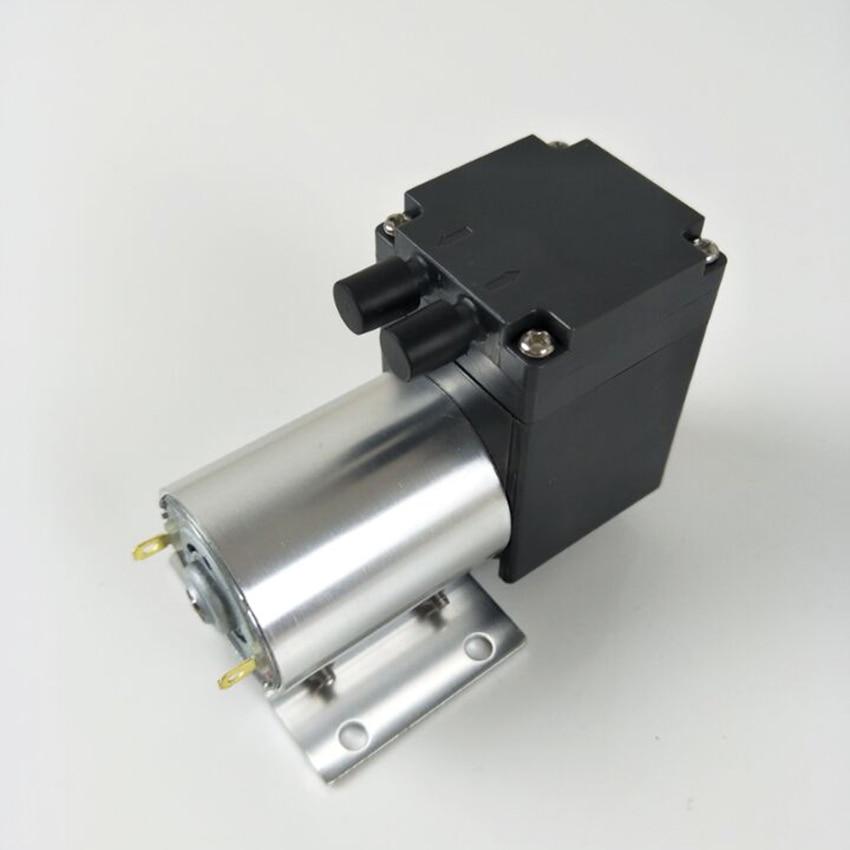 -80kpa Mini Vacuum Pump DC 12V 24V Small Negative Pressure Suction Air Pump Diaphragm Pump Cupping Vacuum Pump 12L/min high quality water circulating multi purpose vacuum pump air drawing rate 10l min