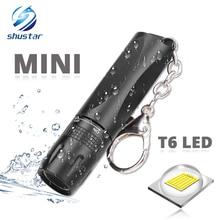 MINI linterna LED superbrillante para uso de linterna T6, linterna LED resistente al agua alimentada con batería AA adecuada para uso en exteriores
