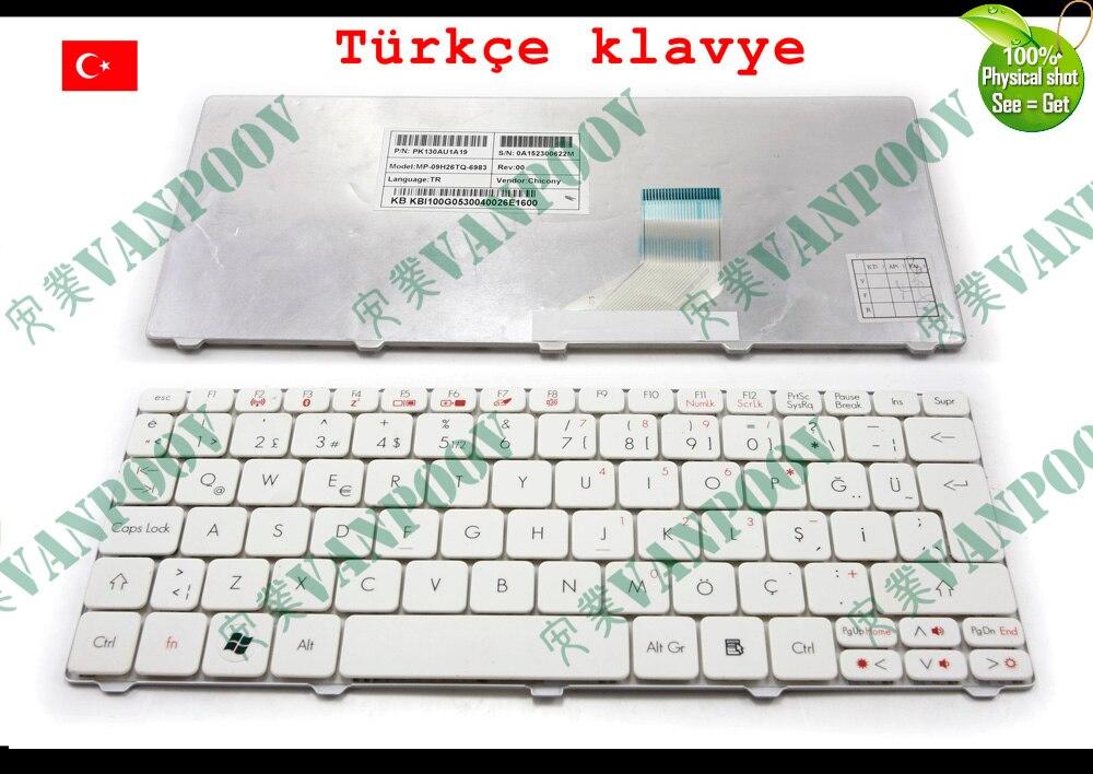 Nuevo teclado para portátil TR Tastatur para Acer Aspire one 532H AO532H...