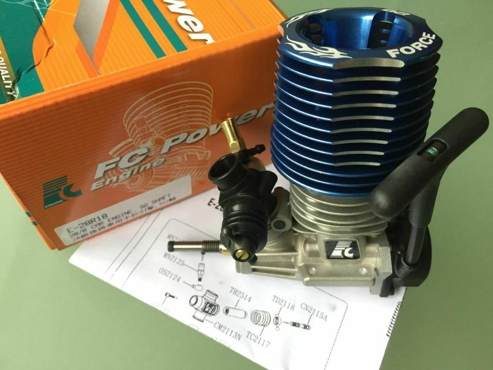 Motor de 4,6 CC RC Nitro Force 28th para GO Redcat HPI Savage XL Losi, escala 1/8