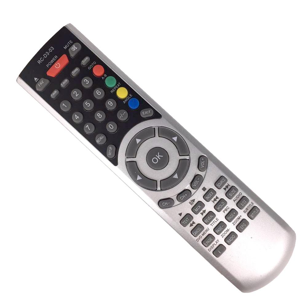 New Replacement RC-D3-03 Universal Remote Control For AKAI Tauras Denver Mascom Lava QCOMBI LCD TV
