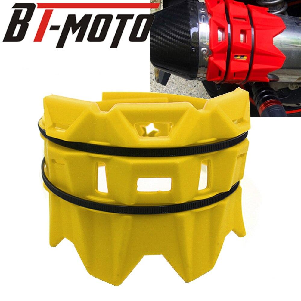 Motorrad Auspuffrohr Rohr Schutz Schutz Abdeckung Schutz Für SUZUKI RM250 RMZ250 RMZ450 RMX250 DR250 DRZ400 DR650 250-650CC