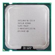Intel XEON 2 CORE E3110 processeur Socket LGA 775 CPU 3.0GHz LGA775 6 mo L2 double-coeur FSB 1333MHz