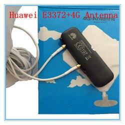 Desbloqueado Huawei E3372 além disso Antena 4G LTE de 150 Mbps USB Modem 4G LTE Dongle USB Stick USB Datacard