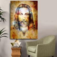 Images murales HD dembellissement de la Figure de jésus-Christ   Nouvelle collection, toile de qualité pour salon, peinture à lhuile, affiches de décoration de maison, illustrations