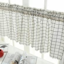 Занавес Valance 45x150 см декоративный короткий прочный для окна кухни кафе дома 669