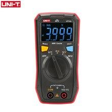 UNI-T Авто Диапазон мини цифровой мультиметр тестер температуры UT123 хранение данных AC DC Вольтметр карманное Напряжение Ампер Ом метр