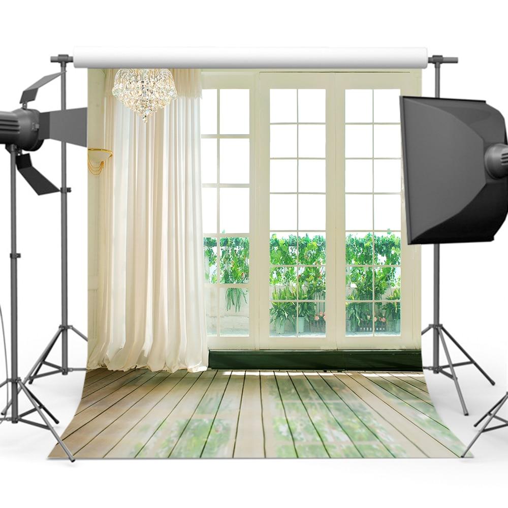 Mehofoto primavera branco porta fotografia fundos piso de madeira backdrops para fotógrafos de casamento foto CM-0811