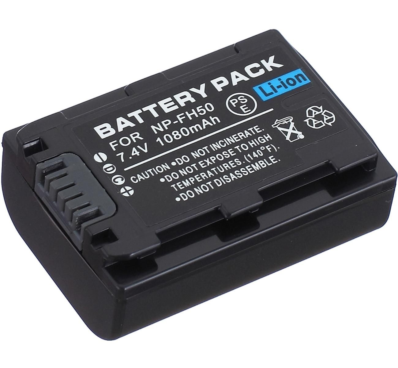 Paquete de batería para Sony HDR-SR5... HDR-SR7... HDR-SR8... HDR-SR10... HDR-SR11... HDR-SR12 Cámaras...