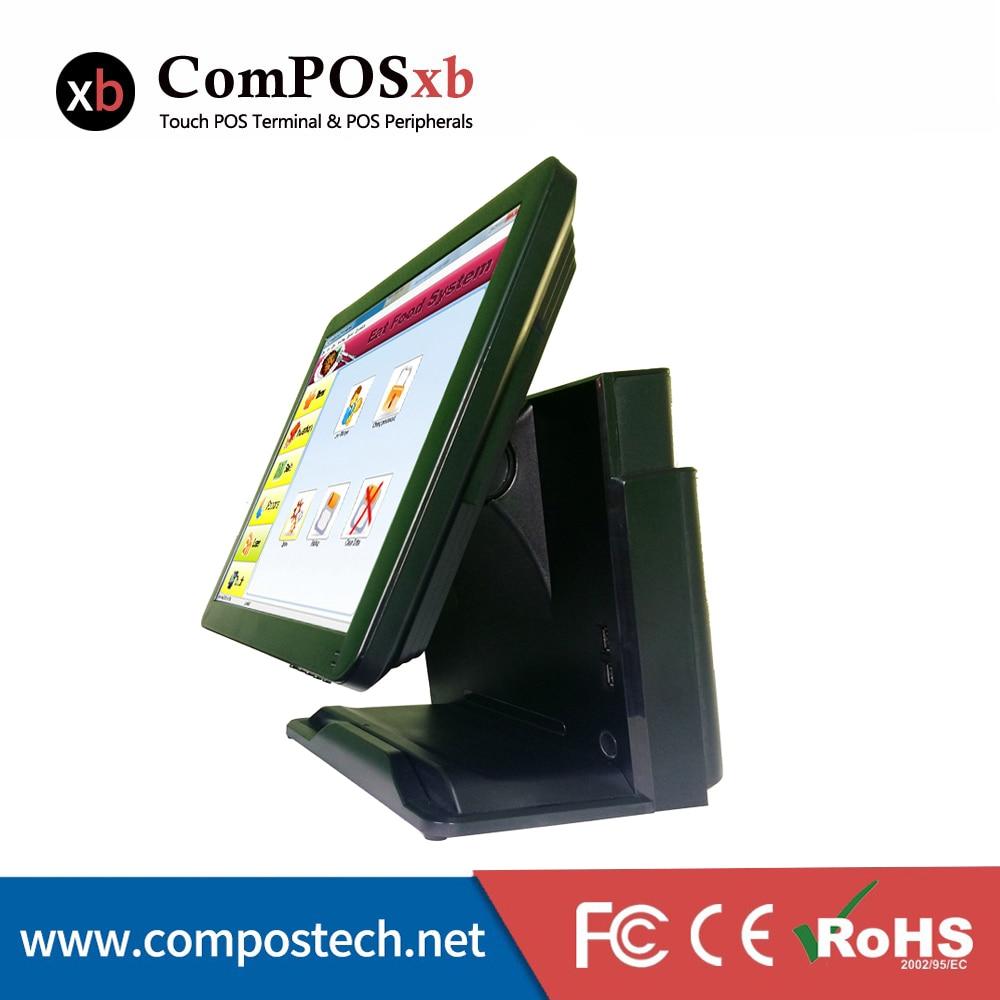 Colorxb-نظام POS إلكتروني بشاشة تعمل باللمس مقاس 15 بوصة ، مصنع صيني OEM عالي الدقة ، الكل في واحد ، Epos