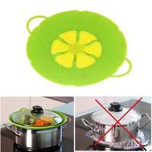أدوات الطبخ زهرة البتلة انسكاب سدادة سيليكون وعاء يغلي أجزاء غطاء غطاء ل عموم تجهيزات المطبخ