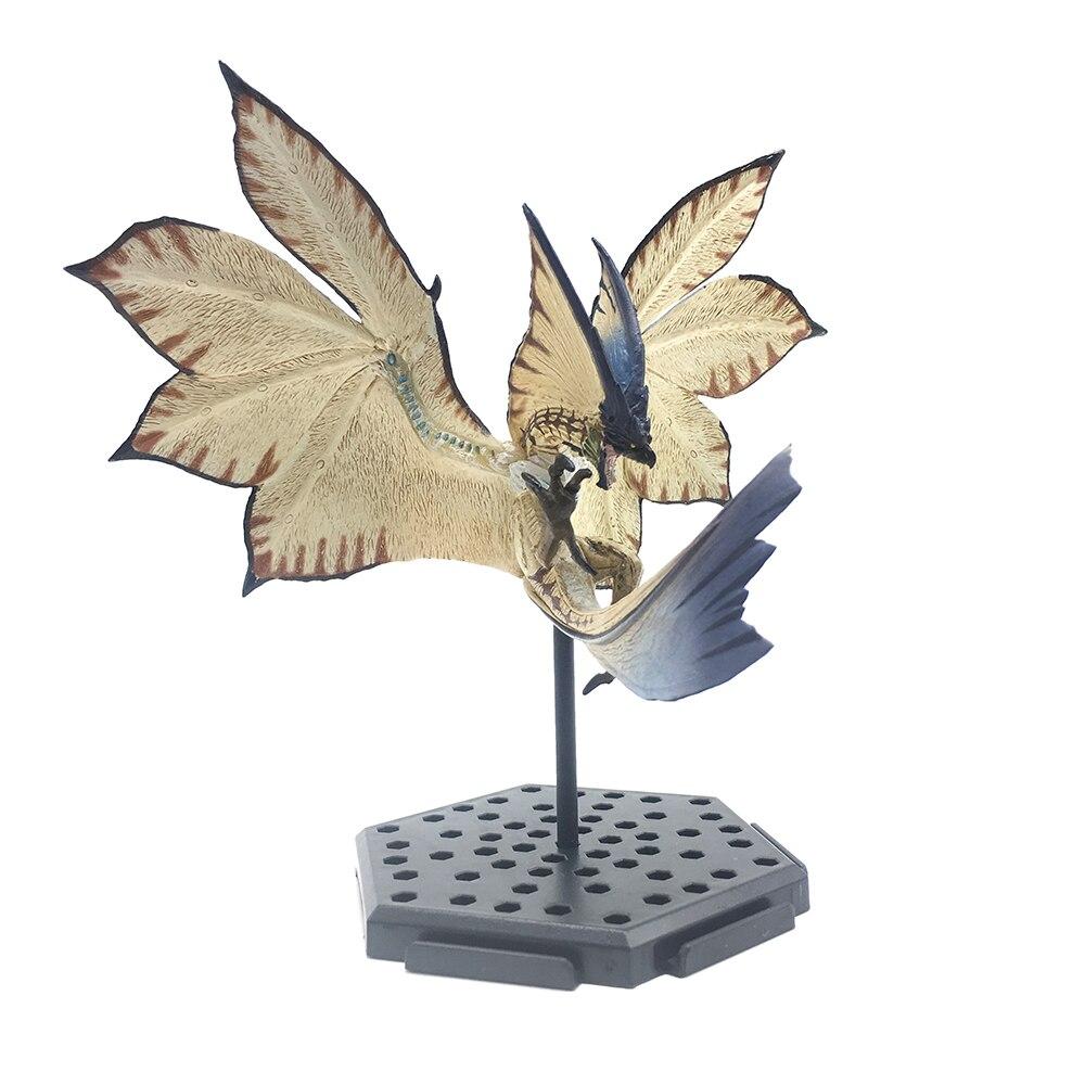 Monstruo cazador mundo Anime juego nueva figura dragón de viento PVC modelo dragón antiguo figura de acción de decoración juguete recoger modelo