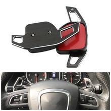 Auto Lenkrad DSG Paddle Verlängerung Schalthebel Shift Aufkleber Dekoration für AUDI A3 S3 A4 S4 B8 A5 S5 A6 s6 A8 R8 Q5 Q7 RS6 A1