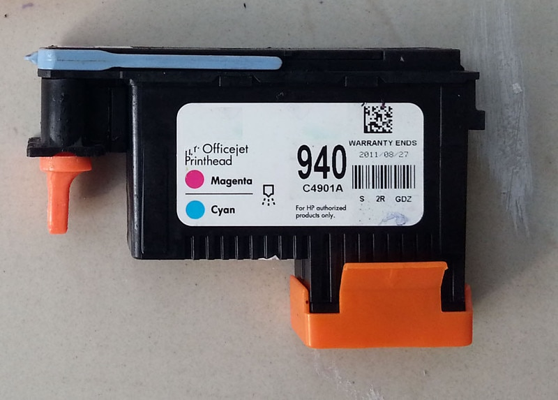 Cabezal de impresión profesional restaurado C4900A y C4901A para HP OfficeJet Pro 940 8000, paquete de 2 8500