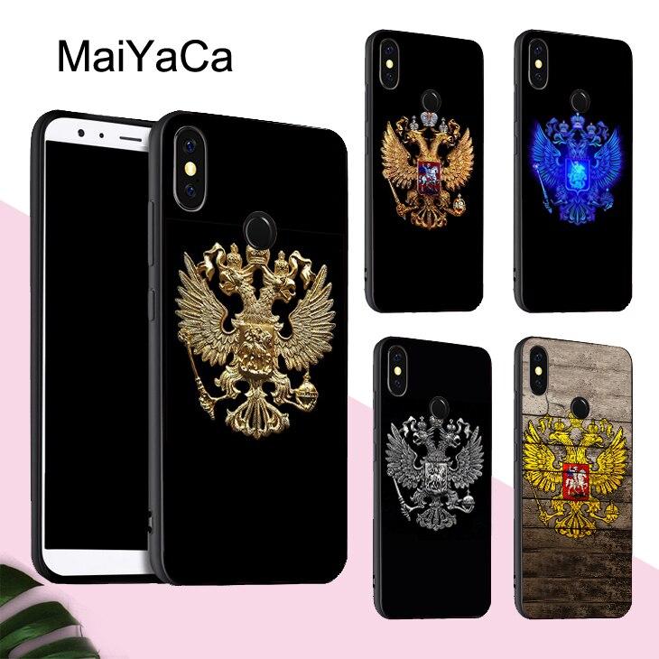 MaiYaCa чехол с русским флагом для Xiaomi Redmi Note 8 9 Pro K30 7 8T 9S 7A 8A Mi 10 9 Lite 9T A3 Max3 Mix3