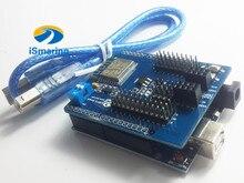 Officiële iSmaring Ontwikkeling WiFi Kit voor Arduino UNO R3 + ESP8266 Draadloze WiFi Shield Voor CH340G MEGA328P Afstandsbediening R