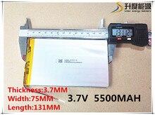 Batterie pour tablette 3.7 V 5500 mah marque tablette gm lithium polymère batterie 3775131 livraison gratuite