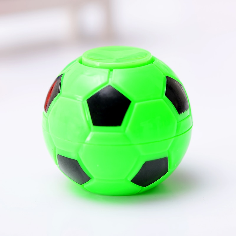 10PCS/Creative Mini Football Basketball Fidget Spinner Toy Hand Tip Gyro Anti-stress Fun Toys Gifts For Adults Chilldren enlarge