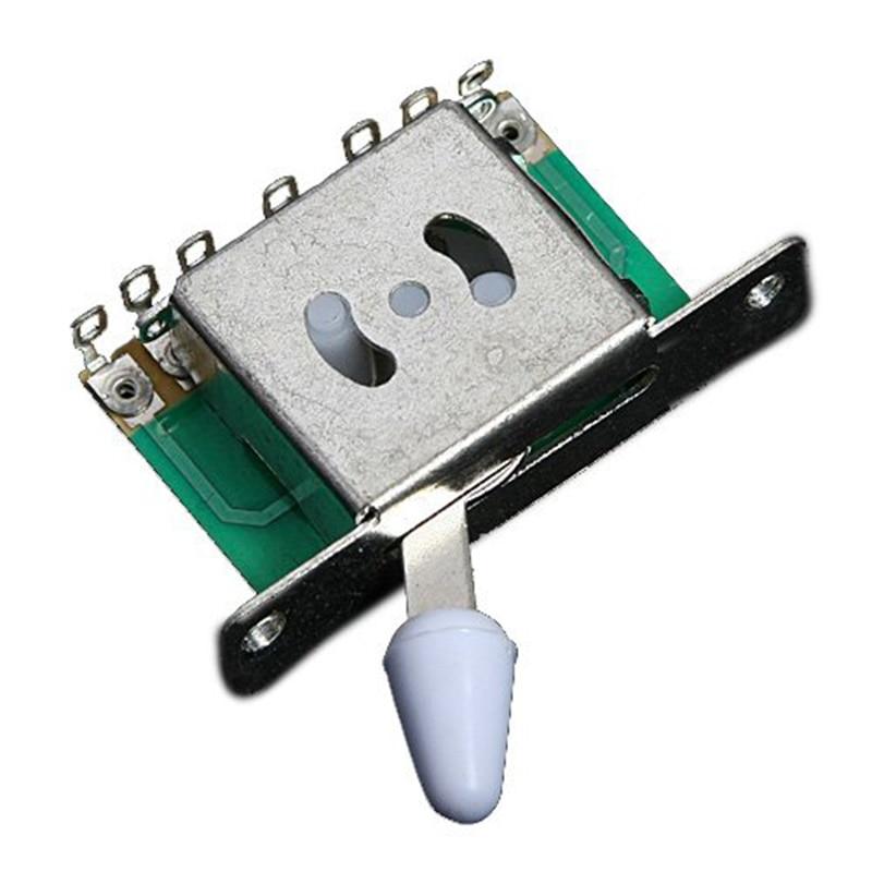 1 Uds., interruptor de selección de pastilla de 5 vías para reemplazo de Strat
