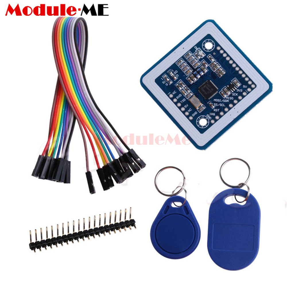 Mini PN532 NFC RFID Wireless Module V3 User Kits Reader Writer Mode IC 13.56MHz SPI IIC I2C S50 Key Card PCB Attenna For Arduino