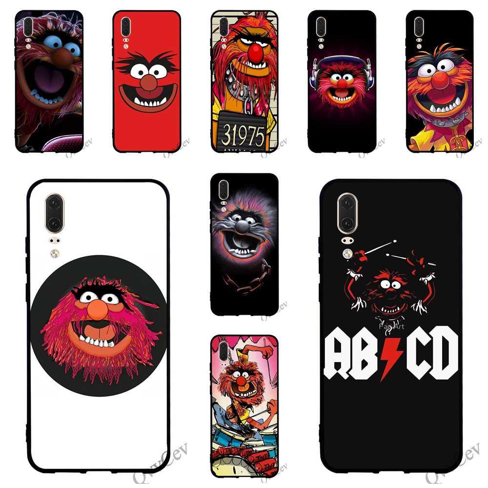 Moda Muppets Animal Drummer teléfono cubierta para Huawei Mate 10 Lite funda 20 P8 P20 Pro P10 P9 Mini P silicona inteligente