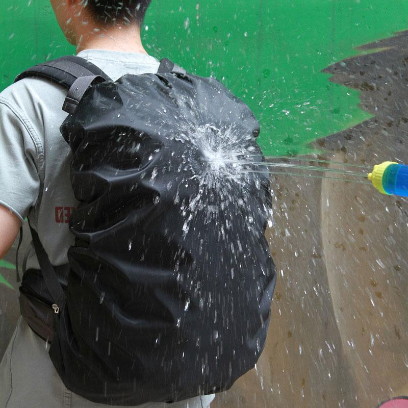 Portable 35L 45L 60L Adjustable Waterproof Dustproof Backpack Rain Cover Protect Shoulder Bag Case for Outdoor Camping Hiking