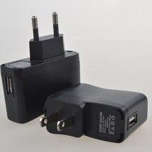 Cargador de pared USB de 100 piezas para cigarrillo electrónico EGO cargador adaptador US EU adaptador de cargador de pared de energía para mp3 mp4 teléfono, ventilador usb