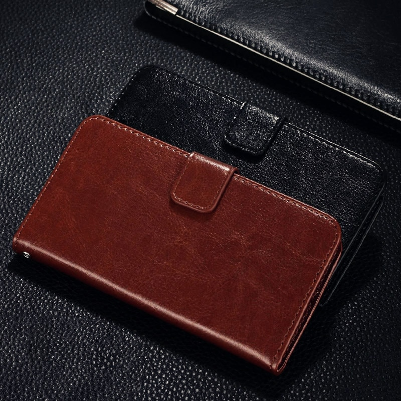 Funda de marca QIJUN para Xiaomi Mi 4 4C 4i 4S X9 Mi4 Mi4C Mi4i Mi4S, funda de lujo de cuero PU Retro, funda con tapa y soporte, bolsa de fundas de teléfono