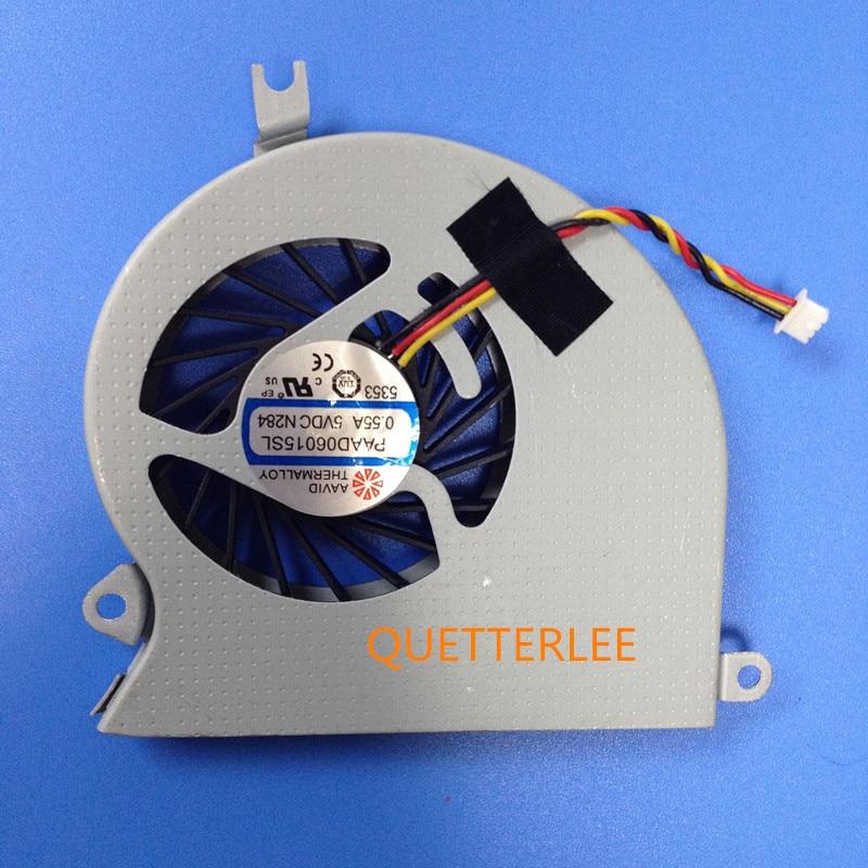 Nuevo ventilador de refrigeración de la CPU del ordenador portátil para MSI GE40 MS-1491 MS-1492 X460 X460DX X460DX-216US PAAD06015SL A101