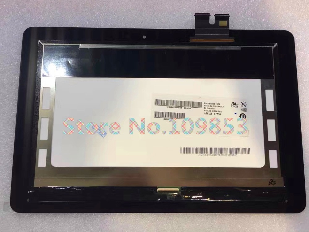 Para ASUS T100chi T1chi T100 CHI con Panel táctil de vidrio de pantalla Asamblea negro completo Monitor LCD digitalizador