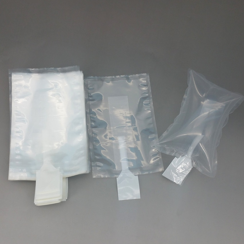 45x45cm Plastic Clear PE Protective Pump Inflatable Cushioning Buffer Packing Material Bags For Packaging Shockproof 500pcs