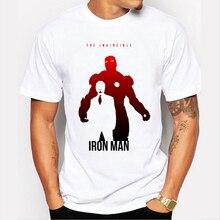 2020 Men Tshirt Captain America/Iron Man/Hulk/Thor Personalized print T-shirt Avengers Boy T-Shirt Brand clothing 89-1#