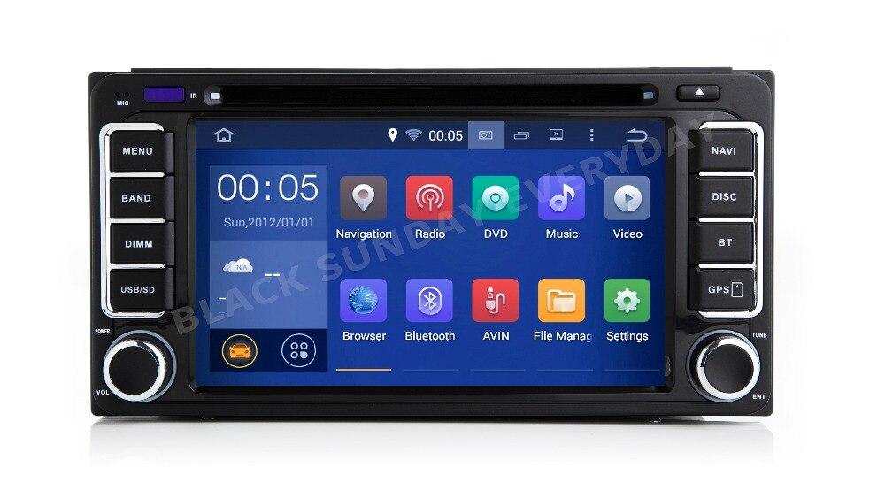 16G Android 9,0 2 DIN Car DVD GPS sistema inteligente Multimedia para Toyota Terios viejo Corolla Camry Prado RAV4 Universal radio