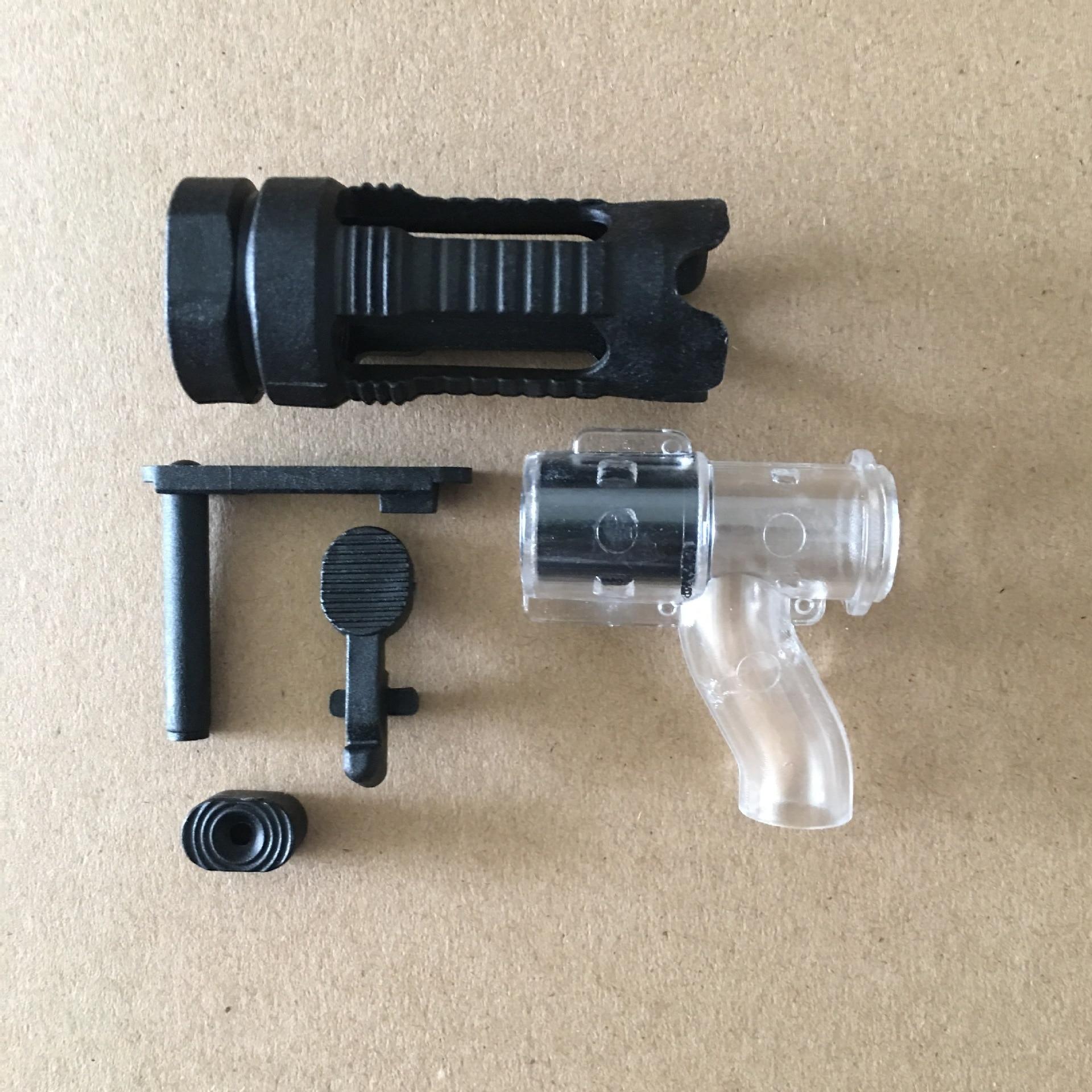 Jinming 9thThree-tee 9 Generation Black Accessories M4A1 Gearbox Water Bullet Gel Blaster Children's Toy Gun Accessories