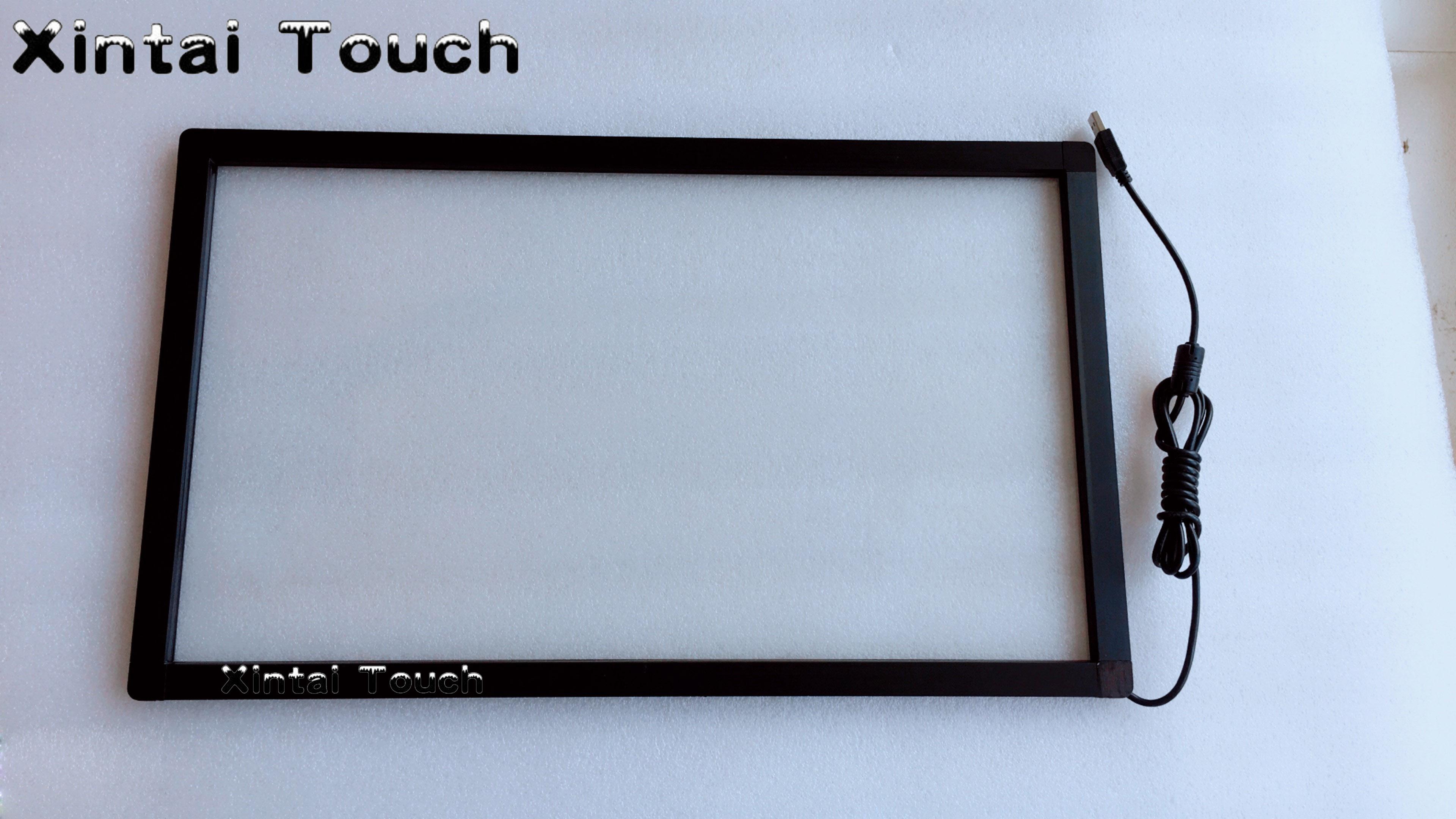 شاشة تعمل باللمس بالأشعة تحت الحمراء مقاس 40 بوصة ، إطار شاشة لمس متعددة 10 نقاط للتلفزيون الذكي ، لوحة شاشة كبيرة تعمل باللمس