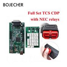 3 шт./лот 2016.R0 с keygen New VCI с Bluetooth TCS сканер TCS Pro Plus для автомобилей/грузовиков + картонная коробка по DHL Free