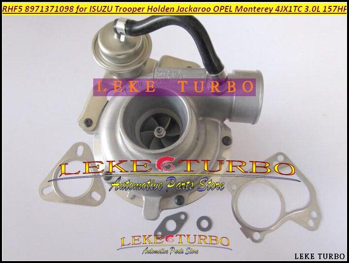 RHF5 8971371098 8973125140 Turbo Turbocharger For ISUZU Trooper 00- Jackaroo 99-04 For OPEL Monterey 98- 3.0L 4JX1T 3.0L