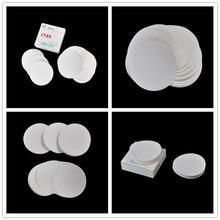 Peerless 100PCS/bag Laboratory filter paper medium speed Funnel filter paper Circular Qualitative filter paper 7cm