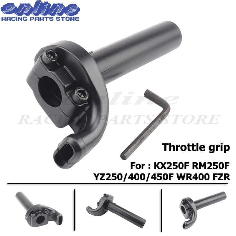 7/8 22 мм руль мотоцикла Ручка Дроссельной заслонки поворот для KX250F RM250F YZ250F YZ400F YZ450F WR400 FZR
