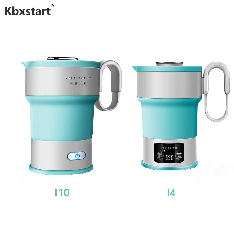 Hervidor de agua eléctrico plegable inteligente, caldera de agua portátil de viaje...